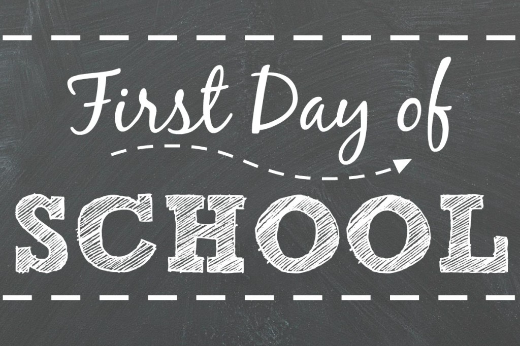 FIRST DAY OF SCHOOL:  TUESDAY, SEPTEMBER 4TH, 2018